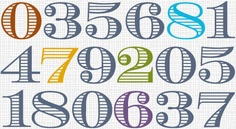 numbers picture