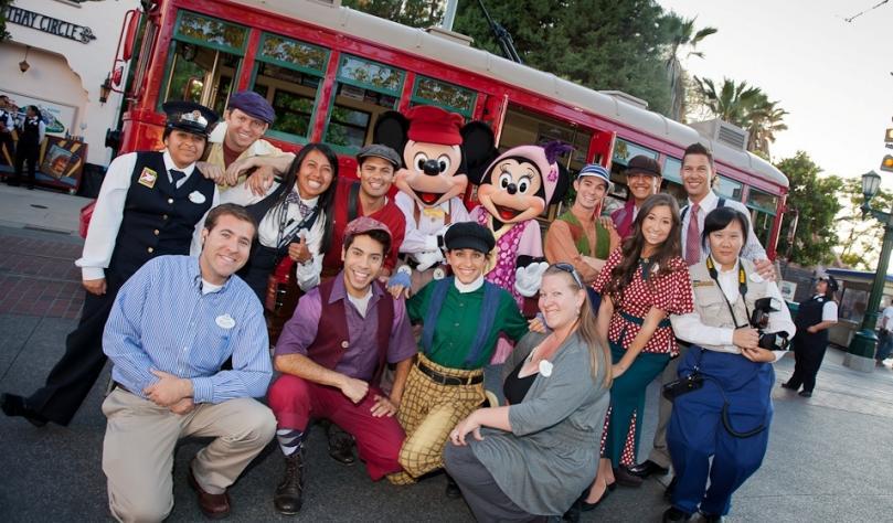Workers in Disney diversity